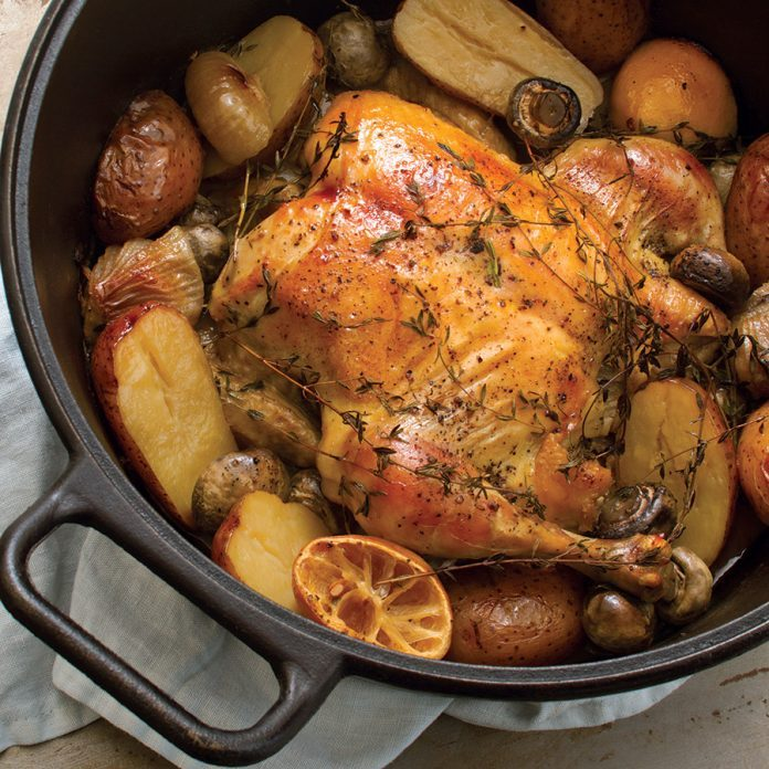 Easy Chicken Pot Roast