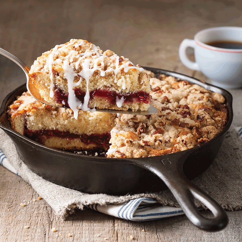 Raspberry-Buttermilk Coffee Cake