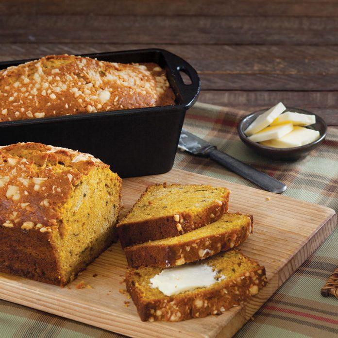 Pumpkin Parmesean Bread