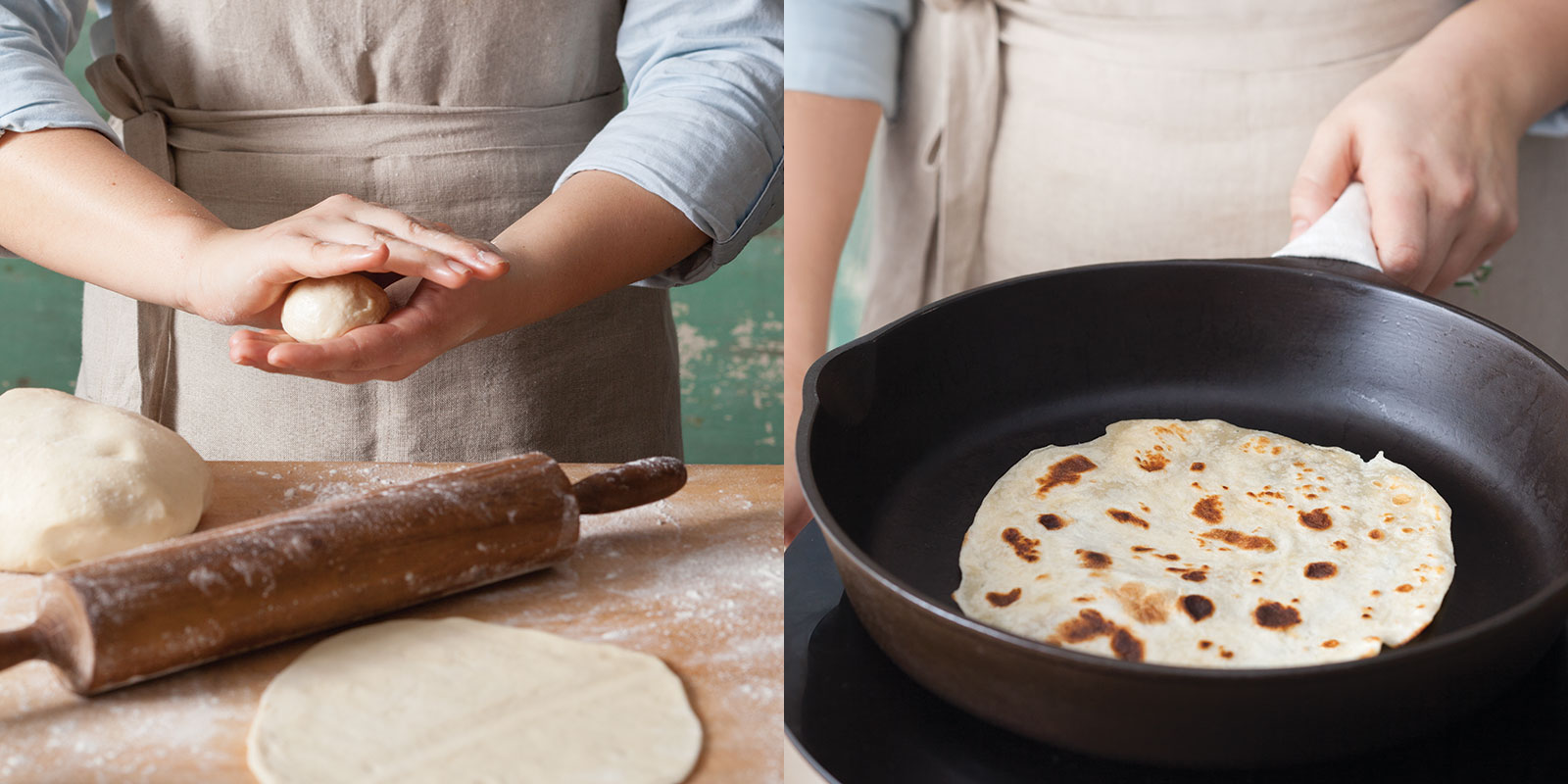 Buttermilk-Bacon Fat Tortillas