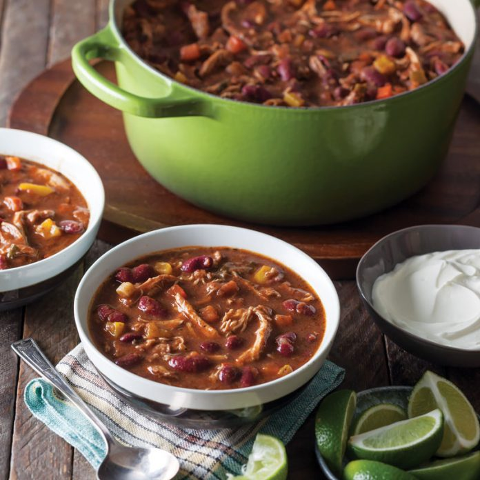 Jamaican Jerk Chili