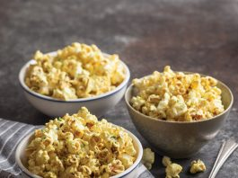 Curry-Lime Popcorn