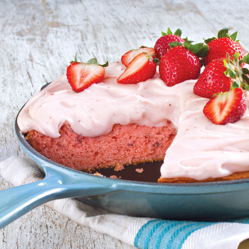 15 Skillet Cakes Anyone Can Make & 15 Skillet Cakes Anyone Can Make - Southern Cast Iron