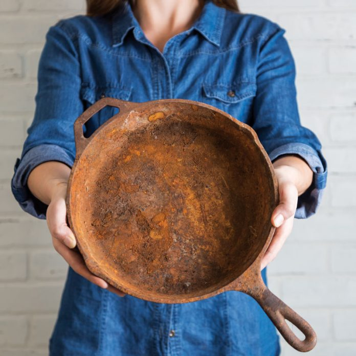 How to Fix Your Rusty Cast Iron - Southern Cast Iron