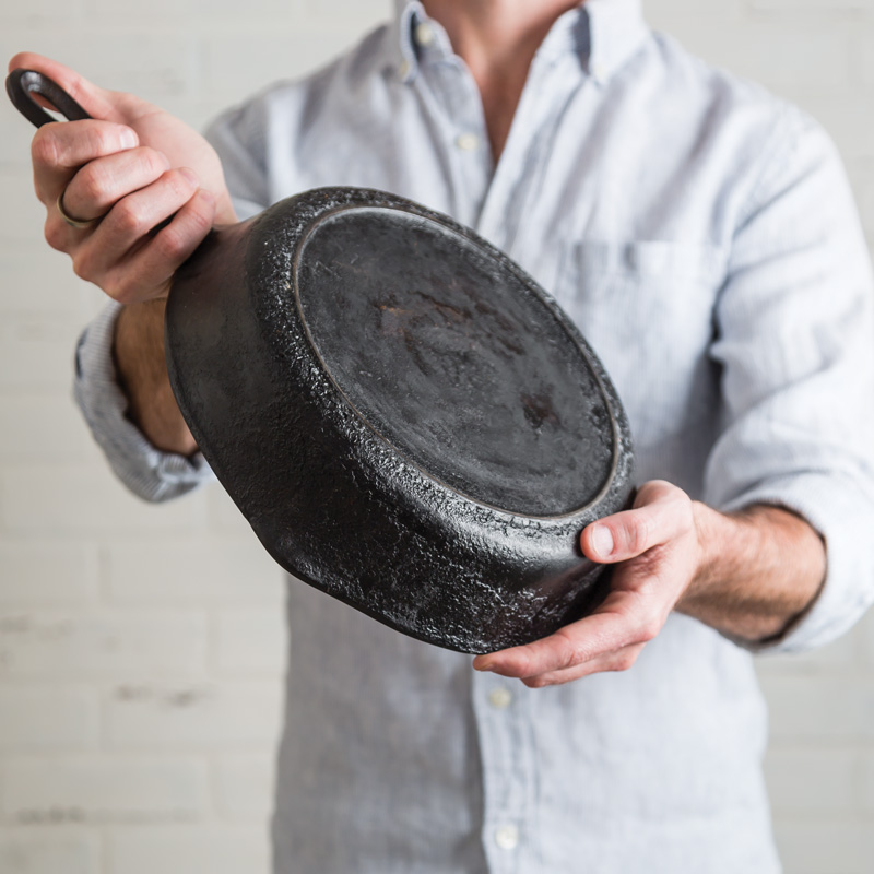 How To Fix Gunky Cast Iron - Southern Cast Iron
