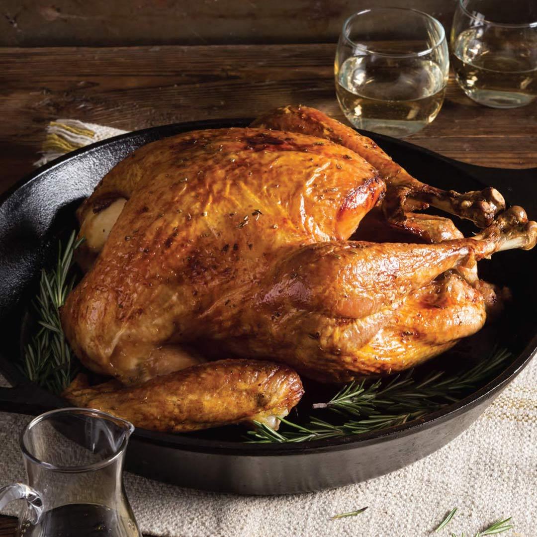 Cane Syrup Glazed Turkey